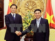 Yunnan Governor welcomed in Hanoi