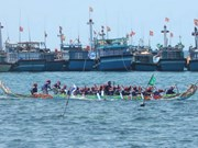 Ly Son boat-race seeks national recognition