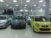 Car sales up in April