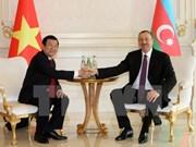 Vietnam, Azerbaijan aim for multifaceted cooperation