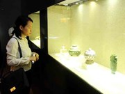 Exhibition features beauty of the lotus flower
