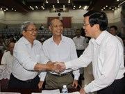 State President clears up concerns of HCM City voters