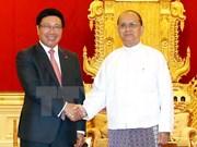 Vietnam, Myanmar reinforce multifaceted partnerships
