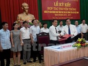 VNA, Phu Tho sign communication collaboration deal