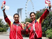 Rowing, shooting keep VN in second place