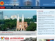 HCM City opens official website on Government's e-portal