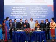 Vietnam helps Laos develop information technology