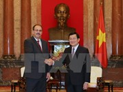 President Truong Tan Sang invited to visit Cuba