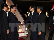PM begins working visit to Japan