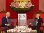 Party leader's visit to US: a great significant event