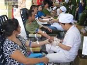Ho Chi Minh City boasts active blood donors