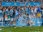 Manchester City prepares for friendly football match in Vietnam