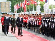 Prime Minister busy in Thailand