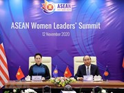 ASEAN Women Leaders' Summit held online in Hanoi