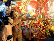 Lanterns brighten up HCM City streets ahead of Mid-Autumn Festival