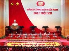 12th National Party Congress opens in Hanoi