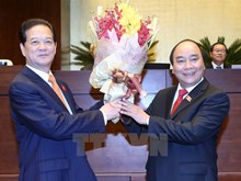 Nguyen Xuan Phuc inaugurated as Prime Minister