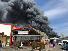 Fire breaks out at Vietnamese market in Berlin
