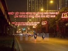 Hanoi splendid ahead of National Party Congress
