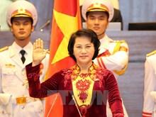 Nguyen Thi Kim Ngan gives oath speech