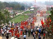 Procession rituals open 2016 Hung Kings Temple Festival