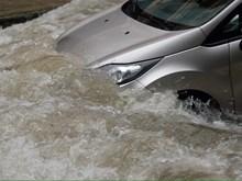 Heavy rains flood Hanoi