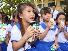 School milk programme launched nationwide