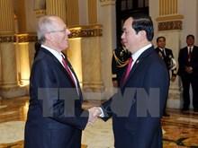 Vietnamese, Peruvian Presidents discuss boosting ties