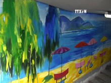 Vietnam's largest beach paintings recognised in Da Nang