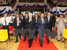 Party leader highlights significance of Vietnam-Laos ties