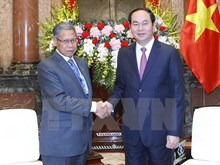 President asks for specific measures for trade target with Malaysia