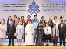 Vietnam attends Summit of Women Speakers of Parliament