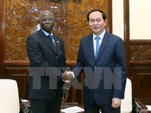 President receives new WB Country Director in Vietnam