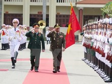 Vietnam boosts defence ties with Laos, Cambodia