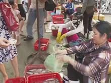 Seafood market in central province heats up again