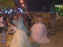 Extravaganza street carnival in Da Nang city
