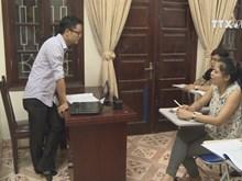Cambodian language class in Hanoi