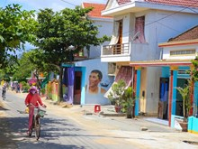 Mural art revitalises fishing village