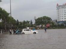 Heavy rains flood central coastal localities