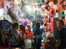 Vietnamese youngsters eager for Halloween