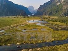 Poetic Van Long Lagoon in Ninh Binh province