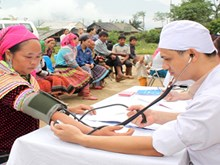 96% of people in Cao Bang covered by health insurance