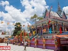 Chen Kieu Pagoda, Khmer's fantastic ornamentation