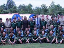Vietnam blue beret force ready for UN mission in South Sudan