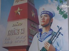 Ha Giang exhibition on seas, islands, naval soldiers