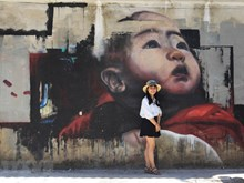 Mural paintings give Hue's old walls new look