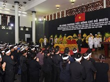 Memorial service held for former Party General Secretary