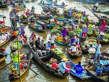 VN's floating markets among Southeast Asia's most photogenic place