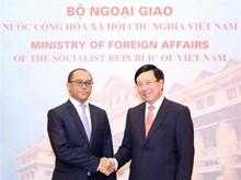 Deputy PM Minh holds talks with Timor Leste's FM