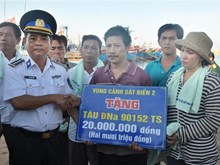 Vietnam Coast Guard, firm fulcrum for fishermen